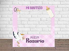Photocall para Mi Bautizo 100 x100 cm | Detalles Bautizos |