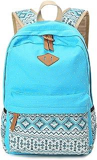Mochilas Escolares Mujer Backpack Mochila Escolar Lona Grande Unisexo Bolsa Casual Juvenil Chica