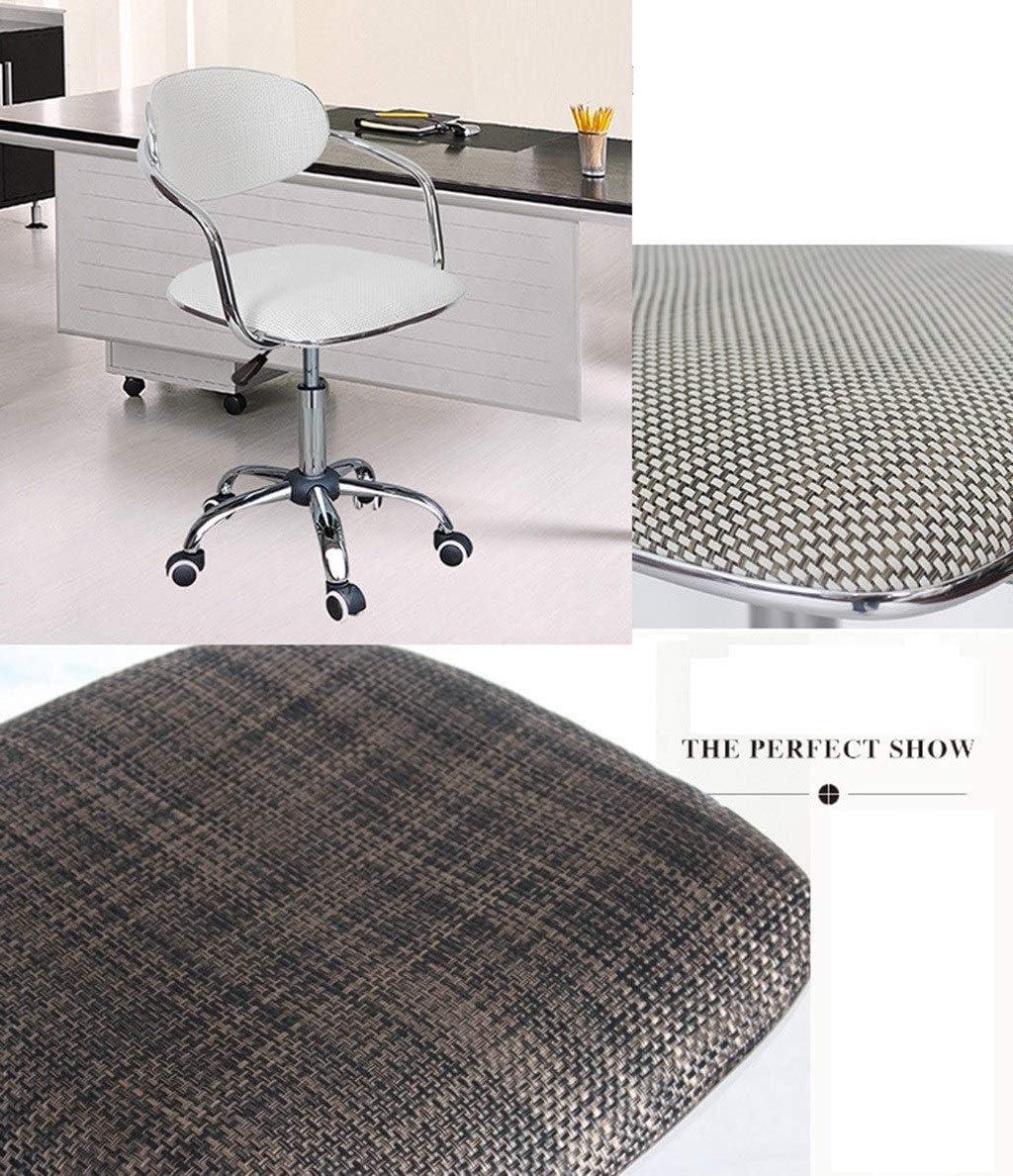 Chaise de bureau amovible, utilisation à domicile Chaise ordinateur de bureau d'étude travail Tabouret relevable salon de coiffure Tabouret (Color : B) B