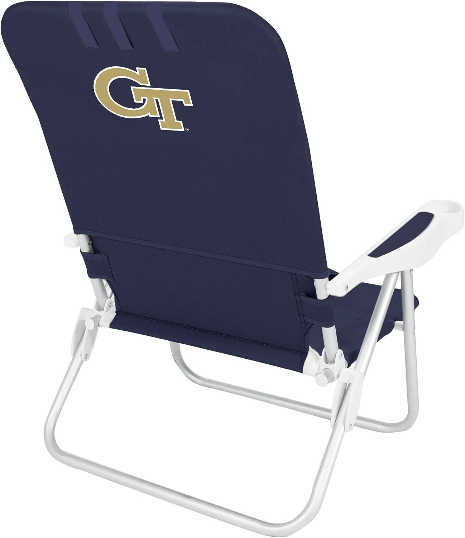 NCAA Georgia Tech Yellow Jackets Monaco Folding Beach Chair