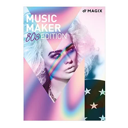 MAGIX Music Maker – 80s Edition – Das Musikprogramm für 80s-Beats und 80s-Musik. [Download]