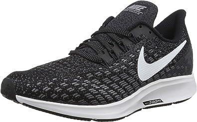 Nike Air Zoom Pegasus 35, Sneakers Basses Homme, Noir Black White ...