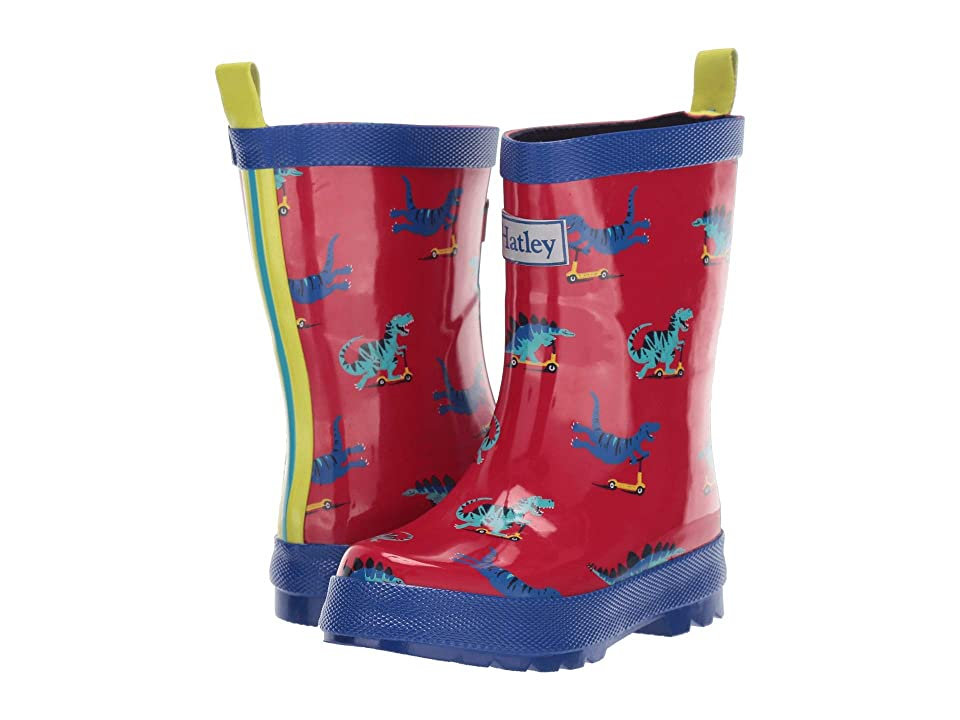 Hatley Kids Limited Edition Rain Boots (Toddler/Little Kid) (Scooting Dinos) Boys Shoes