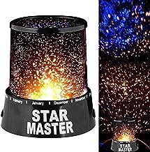 Deeabo Romantische LED Sterrenhemel Projector Lamp, Kids Gift Star Light Nieuwigheid Lamp USB Nachtlampje Sfeer Licht Desk...