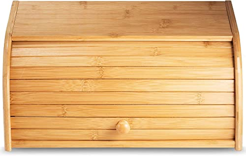 Klee-Large-Natural-Bamboo-Roll-Top-Wood-Bread-Box-for-Kitchen