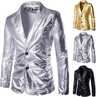 JiaMeng Cappotto di Lana degli Uomo Casuali degli Uomini di Modo del Blazer degli Uomini di Autunno e di Inverno M-4XL