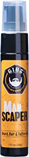 GIBS Beard Oil Conditioner & Tattoo Oil - Promotes Beard Growth - Softens & Strengthens Beards and Moisturizes Skin for Men, 3 Manly Scents | 2 sizes