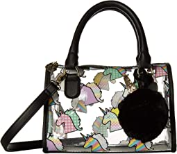 Sydney Clear Mini Barrel Satchel