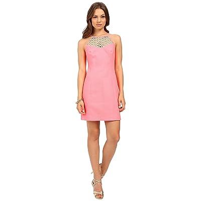 Lilly Pulitzer Larina Shift Dress (Pink Sun Ray) Women
