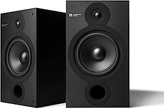 Cambridge Audio SX-60 Bookshelf Speaker | 100 Watt Home Theater Compact Speakers | Pair (Matte Black)