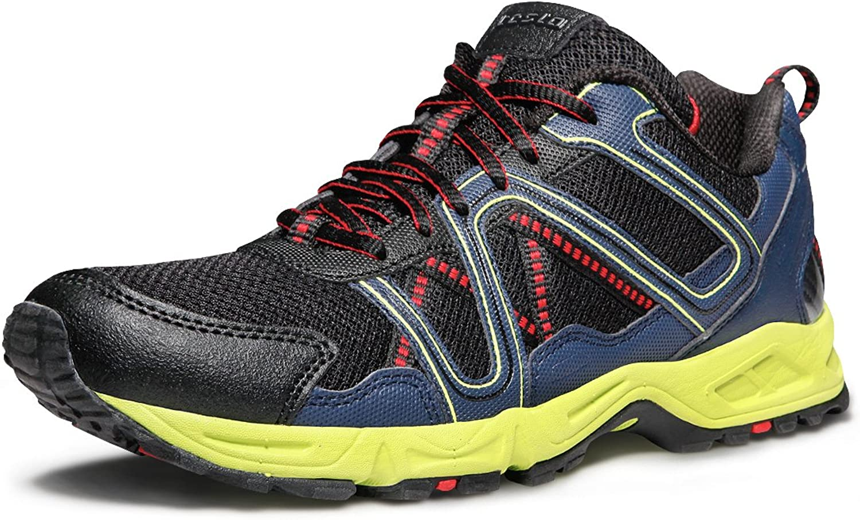 TSLA TF-T320-NVL_Men 12 D(M) Men's All-Terrain Trail Running shoes T320
