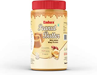 Endura High Protein Peanut Butter 907g (With Added Whey Protein) (Non-GMO, Gluten Free)