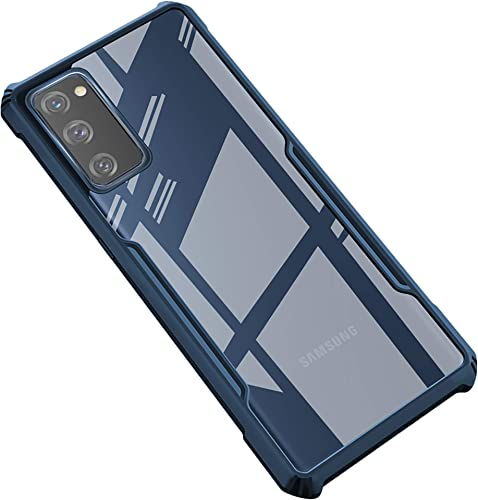 Kapa Beetle for Samsung Galaxy S20 FE Back Case Military Grade Protection Shock Proof Slim Hybrid Bumper Back Cover Blue