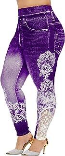 Pantalones Vaqueros De Los Esencial Pantalones Ven Se Mujer Tamaño De Los Tamaños De Jeggins Cordón De La Cintura Alta Ele...