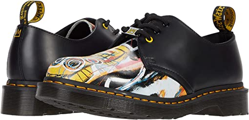 Black/Multi Dustheads Basquiat Backhand/Smooth