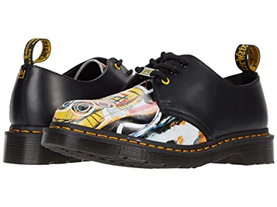 Dr. Martens 1461 Basquiat (Black/Multi Dustheads Basquiat Backhand/Smooth) Shoes