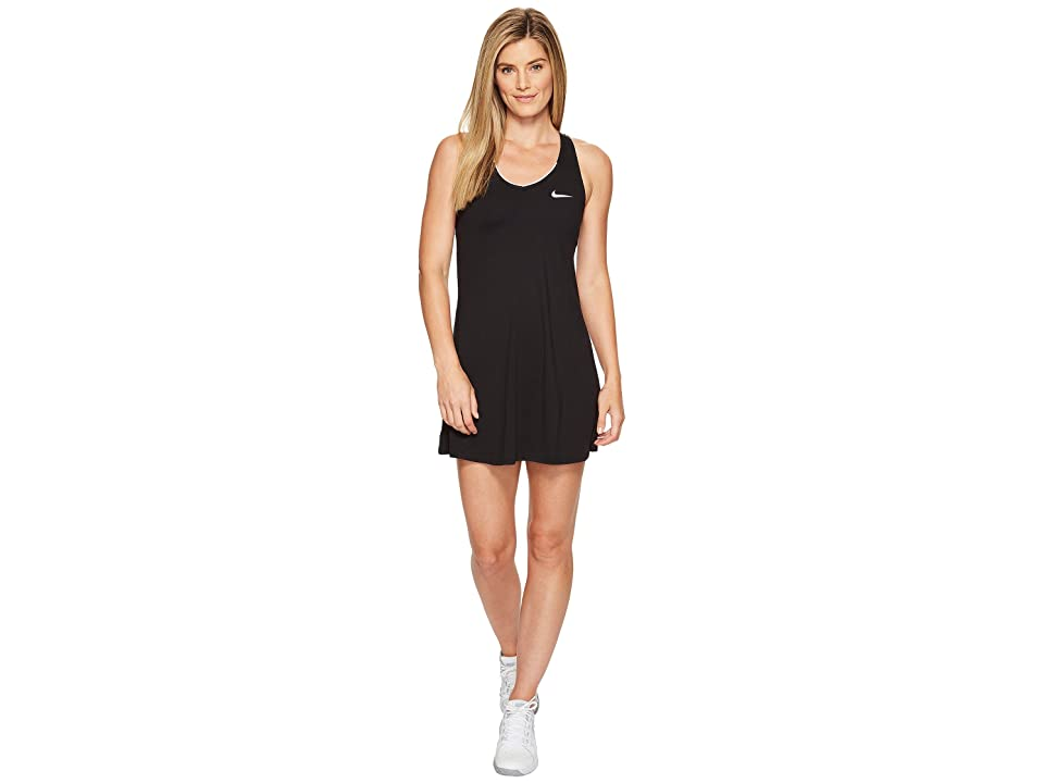 Nike Nike Court Dry Tennis Dress (Black/White) Women