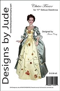 Outlander Claire Fraser Dress Pattern for 17