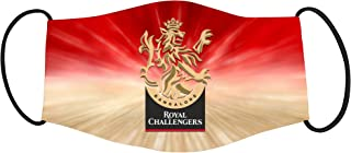 Vista IPL Team Royal Challengers Bangalore Mask-Cotton Reusable Washable Mask (Kids)