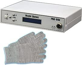 LCL Beauty Fully Digital Bio-Lift Microcurrent Magic Gloves Massage Therapy Salon Spa Beauty Equipment