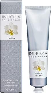 Innoxa Hand Cream Vanilla Lightly-Scented Moisturising Paraben-Free Skin Lotion 100ml