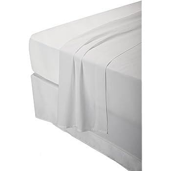 Pikolin Home - Juego de sábanas, 100% algodón, 150 hilos, calidad extra,varios colores, 140x200cm-Cama 135/140 (Todas las medidas): Amazon.es: Hogar