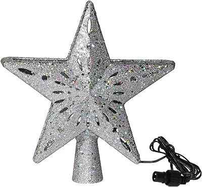 Guang Zhou Feng Estrellas parpadeantes 3D para árbol de Navidad ...