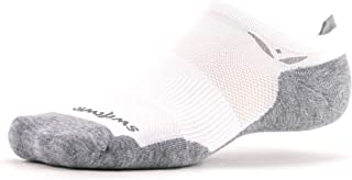 Swiftwick – MAXUS ZERO | Socks Built for Running, Walking, Golf | Maximum Cushion, Relaxed Compression, No Show