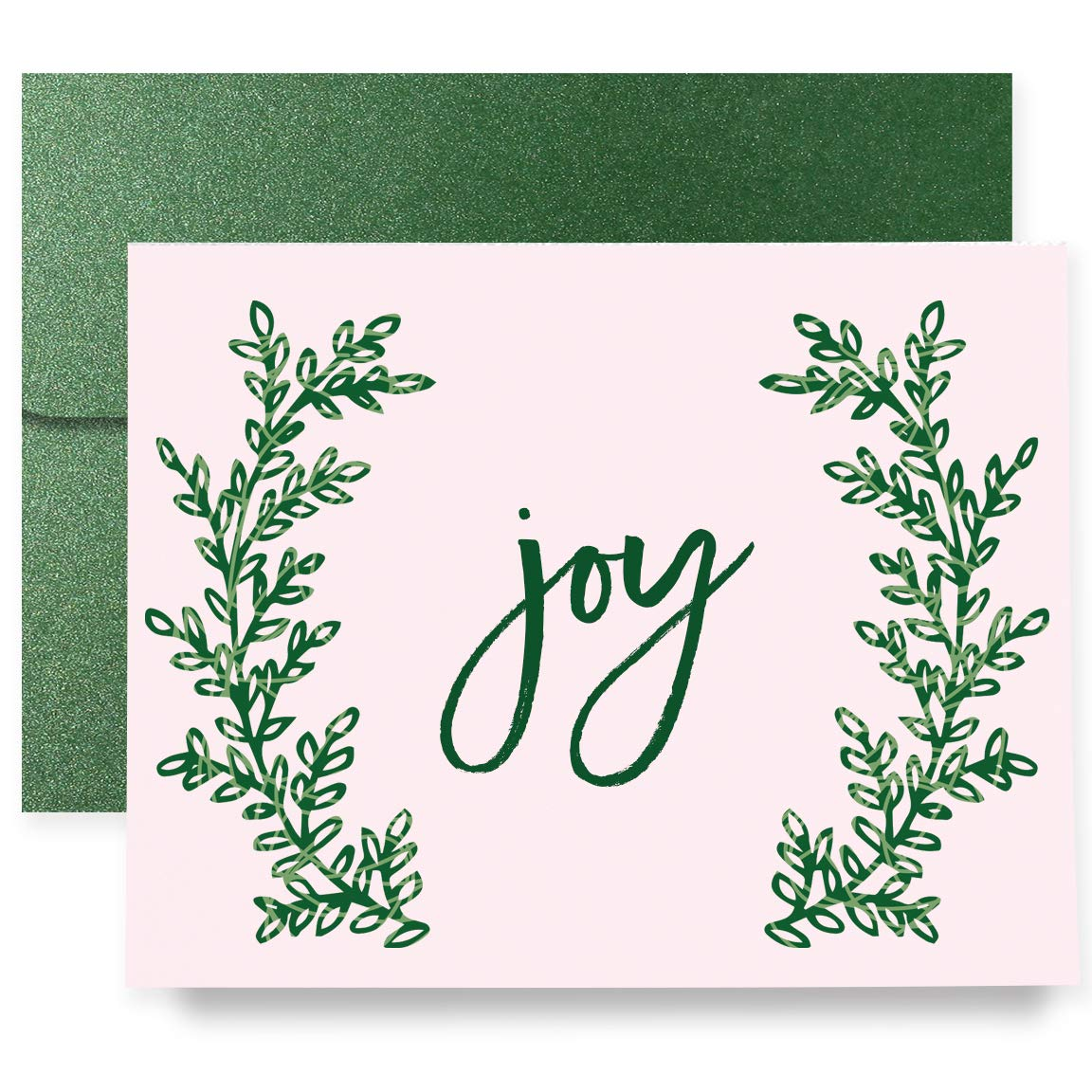 Joy New Orleans Mall Christmas Holiday Greeting Cards Boxed Set 8 Shimmer Charlotte Mall Card of