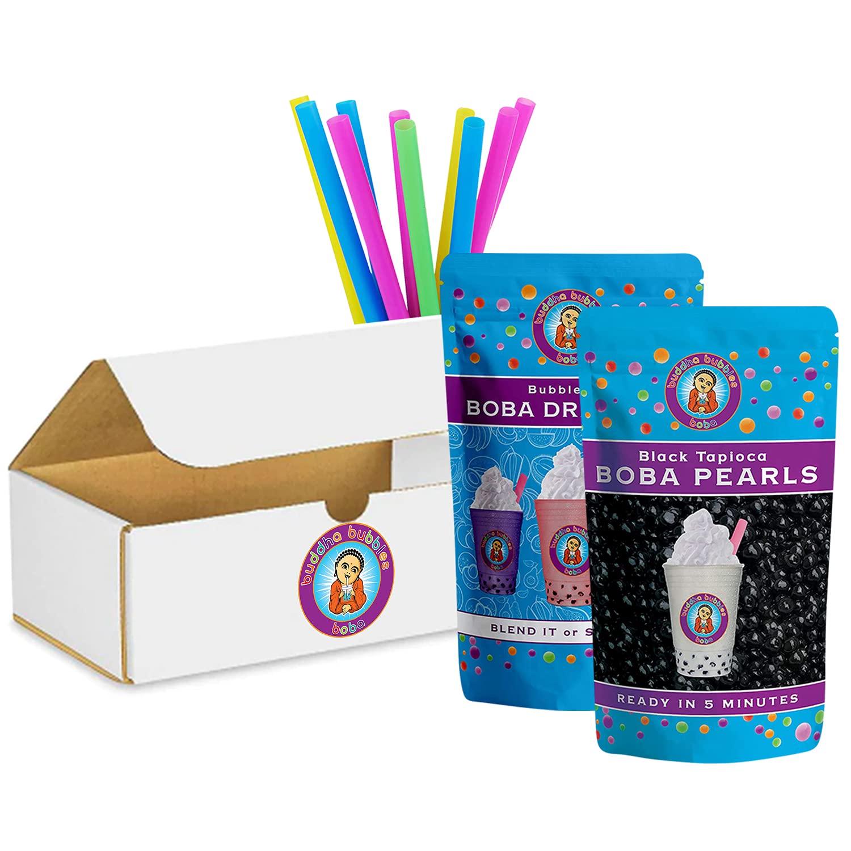 Cheap super special price 10+ Chicago Mall Drinks Spiced Chai Boba Tapioca Tea Kit: Pearls Powder