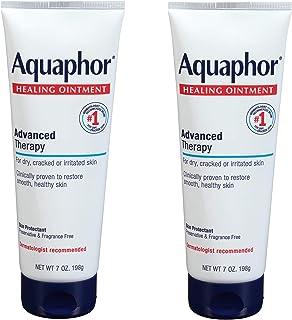 Aquaphor Healing Ointment - Dry Skin Moisturizer - Hands, Heels, Elbows, Lips, 7 oz. Tube, 2 Pack