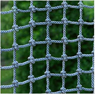 LYRFHW Construction Safty Netting Rope Net Child Protection Climbing Nets Stairs Balcony Children Anti-Fall Net Kindergarten Protective Net Customizable (16mm/15cm)