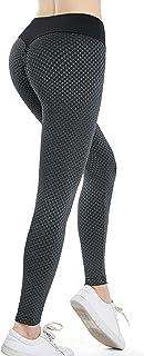 FEOYA Tiktok leggings kvinnor push-up leggings rumplyft byxor TIK Tok kvinnor hög midja yogabyxor fitness pilates S-3XL