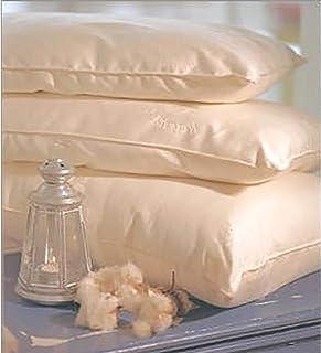 Organic Cotton Natural Kapok Filled Pillows - Boudoir Pillow Kapok Regular Fill