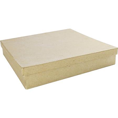d/écopatch Mache Square Box 12x9x3.5 cm
