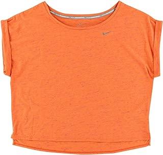 Nike Womens Tailwind Neo Slub Crop Tee