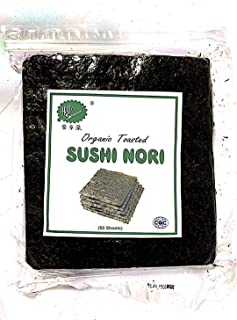 Bio-Sushi-Nori-Algen (1 Beutel (50 Blatt)