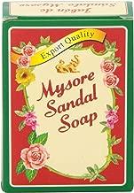 Mysore Sandal Soap 4.41 oz (125 Grams) Box, (Pack of 5)