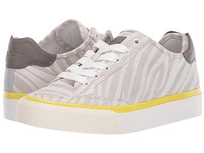 rag & bone RB Army Low Sneaker (Light Grey White) Women