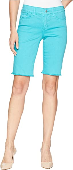 Briella Shorts w/ Fray Hem in Water