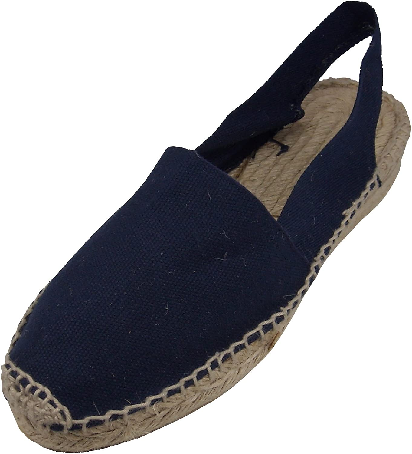 Alpargatus Low Heel Sandals Navy bluee
