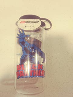 Nalgene Wm 1 Quantity Black Panther Bottle & Lid, Clear, 32 oz