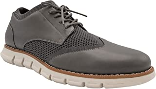 Mens Wingtip Shoes | Casual Dress Shoes for Men | Lightweight Lace Up Mens Oxford Shoes | Shoes for Men with Deep Grooves in Outsole That Mimics Natural Motion of The Foot| Keon