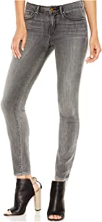 Womens Icon Denim Mid Rise Colored Skinny Jeans