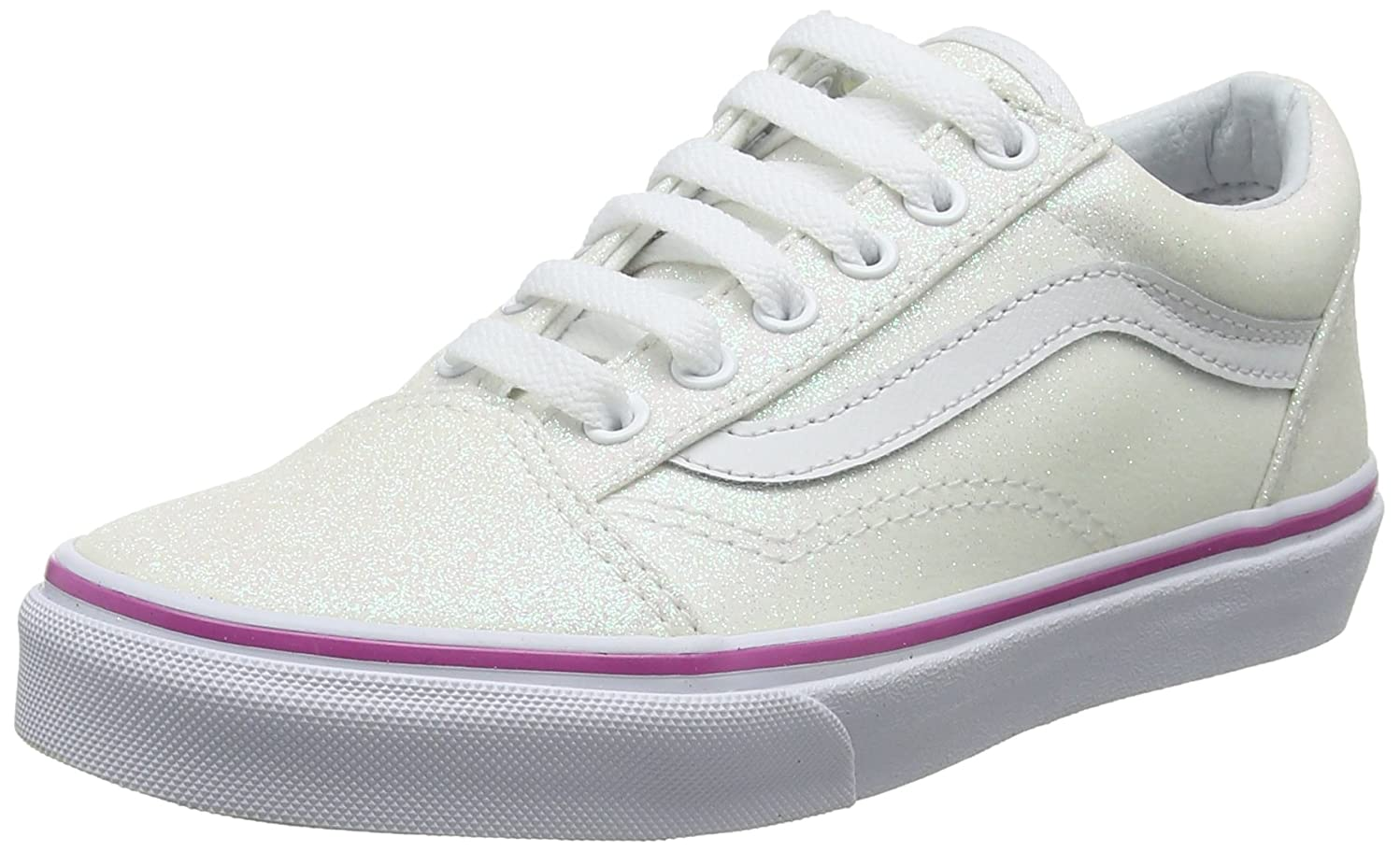 Vans Girls Old Skool Glitter Lace Sneakers