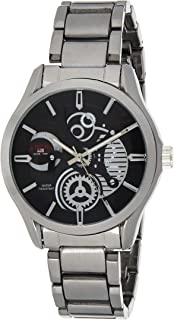 U.S. Polo Assn. US8307A Men's Quartz Watch, Analog Display and Stainless Steel Strap