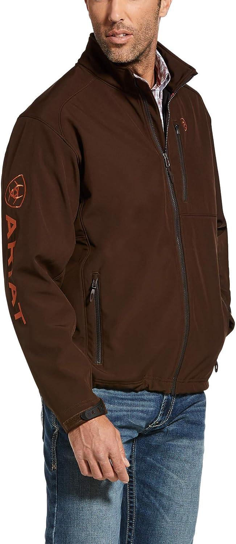 ARIAT Men's Logo 2.0 Softshell Zip-Up Jacket