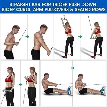 Arm Strength Rope Fitness Umfassendes Trainingsgerät Fitness Pull Rope I1A7