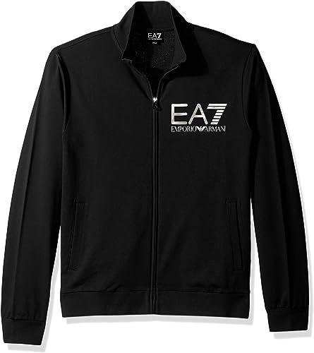 Ea7-6ypm92 noir Tracktop - Sweats Vestes zippée