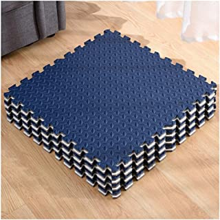 Foam Interlocking Tiles Puzzle Exercise Mat Protective Flooring For Gym Equipment And Cushions For Workouts, 3 Colors (Col...